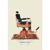 Buyenlarge Barber's Chair Graphic Art