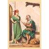 Buyenlarge Oriental Courtship Painting Print