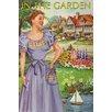 Buyenlarge 'Inthe Garden 50s Retrodress Ii' by Sara Pierce Graphic Art