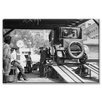 Buyenlarge Havoline Oil Company Motor Oil Change Photographic Print on Wrapped Canvas