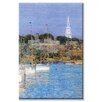 Buyenlarge Cat Boats and Newport Painting Print on Wrapped Canvas