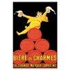 Buyenlarge 'Biere de Charmes' Vintage Advertisement on Wrapped Canvas