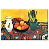 Buyenlarge Still Life with Hyacinthe Painting Print on Wrapped Canvas