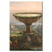 Buyenlarge Titan's Goblet Painting Print on Wrapped Canvas