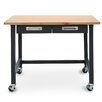 Seville Classics UltraGraphite Commercial Heavy-Duty Wood Top Workbench