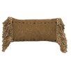 Wooded River Mountain Storm Lumbar Pillow