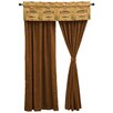 """Wooded River Reel Time 55"""" Curtain Valance"""
