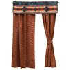 """Wooded River Crystal Creek 60"""" Curtain Valance"""