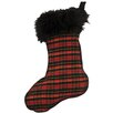 Wooded River Wooded River Plaid 1 Stocking