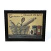 Timeless Frames Seasoned with Love by Pam Britton Framed Graphic Art