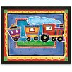 Timeless Frames Train Framed Painting Print