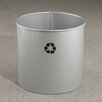Glaro, Inc. RecyclePro 21-Gal Single Stream Open Top Multi Compartment Recycling Bin