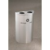 Glaro, Inc. RecyclePro Value Series 14-Gal Multi Compartment Recycling Bin