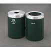 Glaro, Inc. RecyclePro Value Series 82-Gal Dual Unit Multi Compartment Recycling Bin