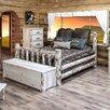 Montana Woodworks® Montana Log Slat Panel Bed