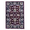 Herat Oriental Mahal Hand Tufted Wool Red/Black Area Rug