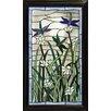 JJ International Milana Rectangular Stained Glass Panel
