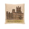 Heritage Lace Castle Downton Abbey Throw Pillow