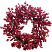 Mills Floral Soft Berry Wreath