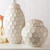 Two's Company Facets 2-Piece Covered Jar Set