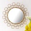Two's Company Metropolitan Wire Link Mirror