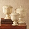 Tozai Zanzibar 3 Piece Decorative Urn Set