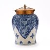 Tozai Large Decorative Urn with Lid