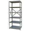 "Hallowell Hi-Tech Free Standing 87"" H Six Shelf Shelving Unit"