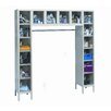 Hallowell Safety-View 6 Tier Box Locker