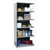 "Hallowell Hi-Tech Extra Heavy-Duty Closed Type 87"" H 6 Shelf Shelving Unit Add-on"
