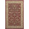 AMER Rugs Cardinal Red / Gold Benedict Area Rug