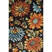 Jaipur Rugs Blossom Hand-Tufted Black/Orange Area Rug