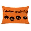One Bella Casa Pumpkins On a Branch Lumbar Pillow