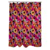 One Bella Casa Summer's Day Floral Shower Curtain