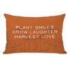 One Bella Casa Harvest Love Lumbar Pillow