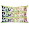 One Bella Casa Beautiful Flowers Lumbar Pillow