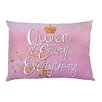 One Bella Casa Queen of Effing Everything Pillowcase