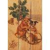 Gizaun Art Sleigh Dogs 3 Piece Textual Art