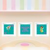 Mona Melisa Designs 3 Piece Fairy Picture Frame Wall Decal