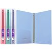 Bazic Glitter Poly 3-Ring Binder with Pocket (Set of 48)