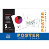 Bazic White Poster Board (Set of 48)