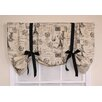 """RLF Home French Stamp Tie-Up 50"""" Curtain Valance"""
