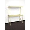 PVIFS Industrial Retractable 2 Shelf Shelving Unit Starter