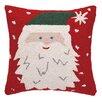 Peking Handicraft Santa Hat Hook Throw Pillow
