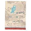 Peking Handicraft Owl Kitchen Towel (Set of 2)