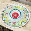 Glory Haus Joy Floral Melamine Chip and Dip Platter