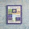 Glory Haus LSU Spirit Magnet Textual Art