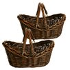 WaldImports Willow Basket (Set of 2)