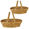 WaldImports Woodchip Basket (Set of 2)
