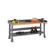 Tennsco Corp. Compressed Wood Top Workbench